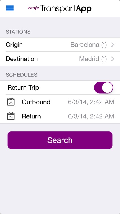 TransportApp [Spain] Gas Stations Prices, Traffic Status, Flights in AENA airports, schedules, maps and fares for Renfe and Cercanias trains screenshot-4