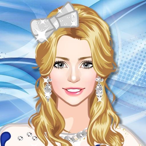 Одежда для фигуристки - одевалка. Игры для девочек и детей, которые любят макияж для принцесс и салон красоты