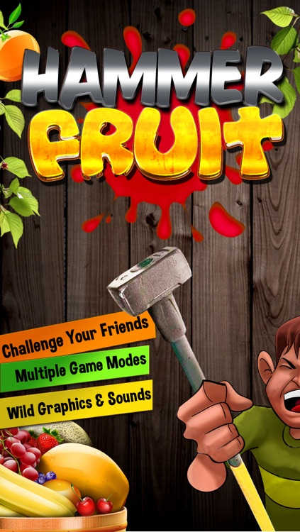 Hammer Fruit - Free Smash Kids Game for iPhone, iPad and iPod touch
