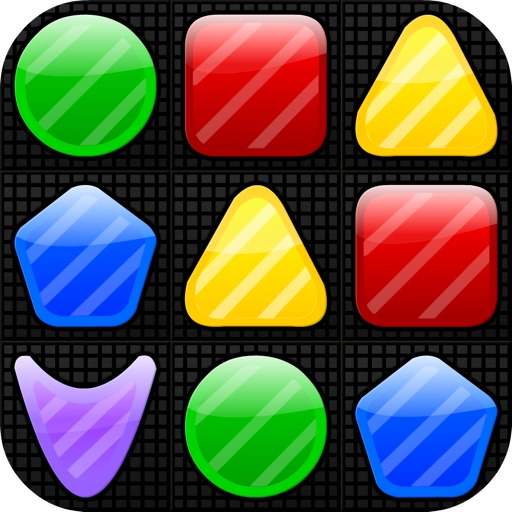 Shape Matcher - The Best Swap & Match 3 Puzzle Mania