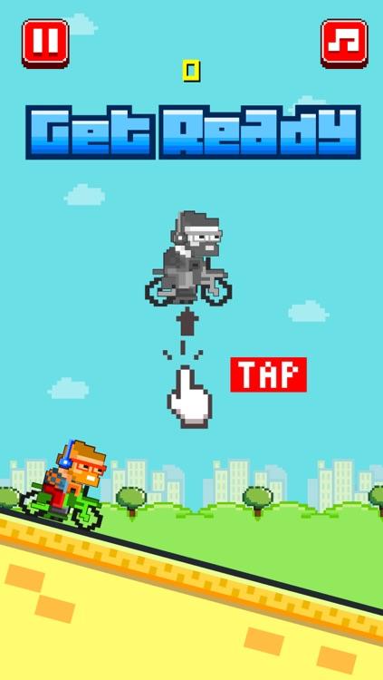 Bike Heroes - Play Free 8-bit Pixel Moto Racing Games