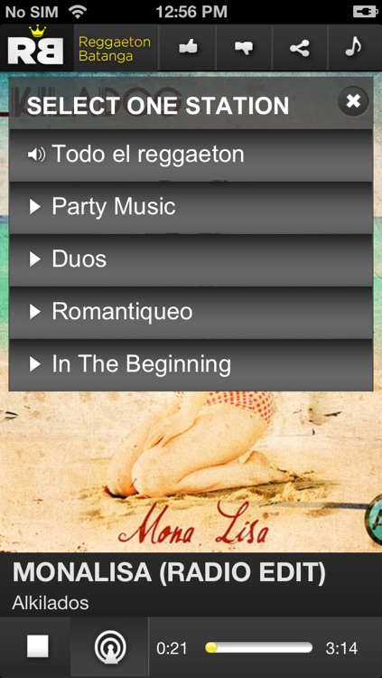 reggaeton batanga
