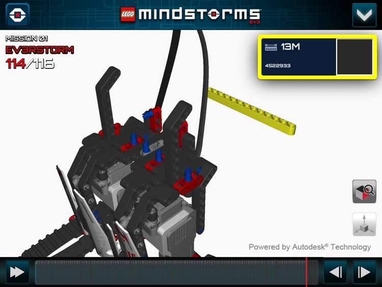 LEGO® MINDSTORMS® 3D Builder screenshot-3