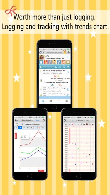 Baby Daily Activity Tracker tools iCareRoom Free