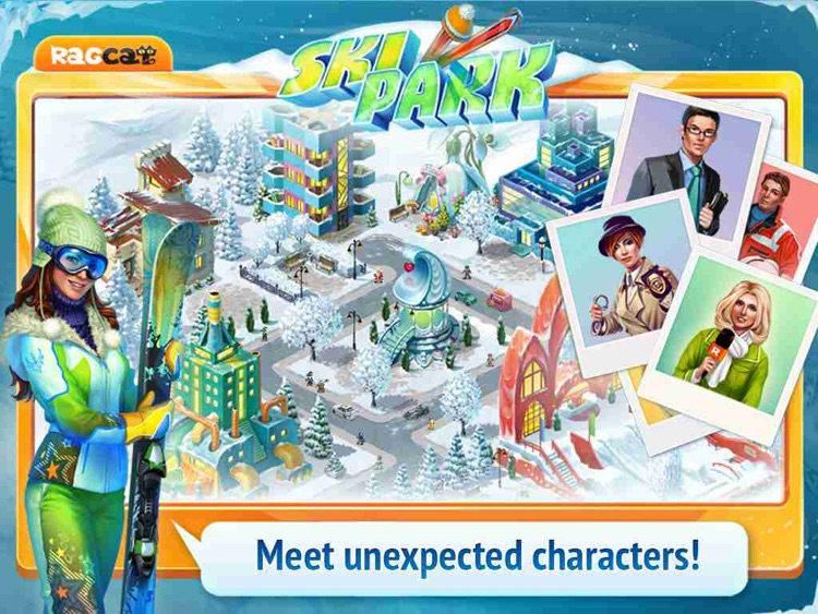 Ski Park HD: Build Resort and Find Objects! screenshot-4