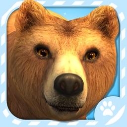 Virtual Pet Grizzly Bear