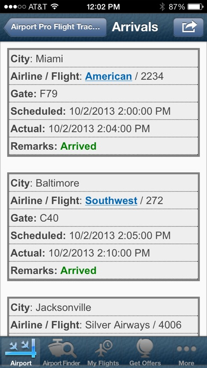 Tampa Airport + Flight Tracker screenshot-3