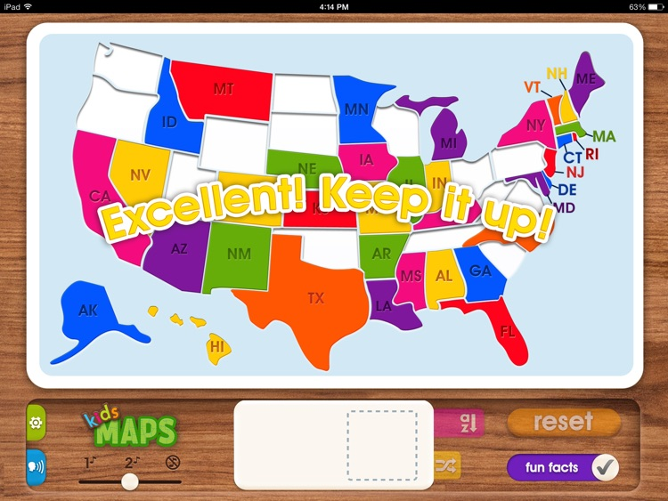 Kids Maps - U.S. Map Puzzle