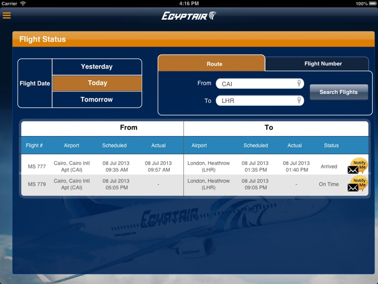 EGYPTAIR HD screenshot-3