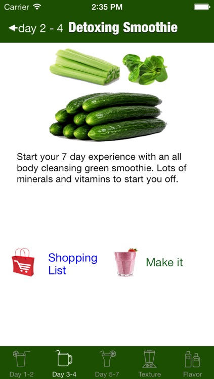 7 Day Green Smoothie Challenge screenshot-4