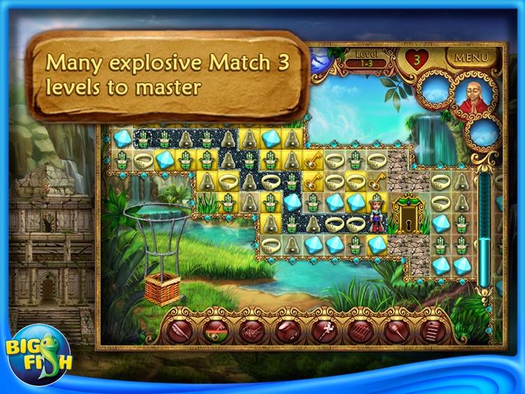 Tibet Quest HD - A Match 3 Puzzle Adventure