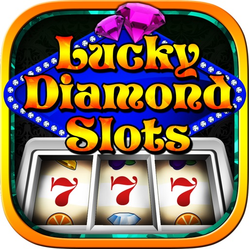 Lucky Diamond Slots App - Fun Gamble Games Casino Style icon