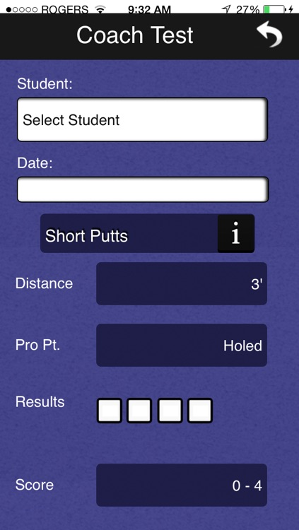 Jerry Tucker Golf Short Game Test