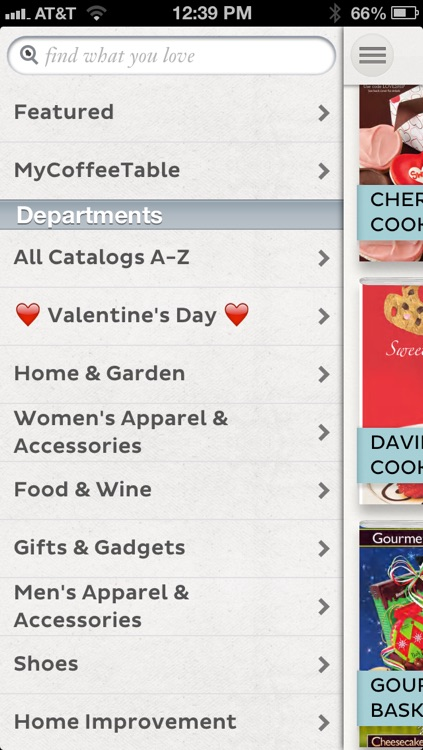CoffeeTable: Catalog shopping for the iPad and iPhone screenshot-3