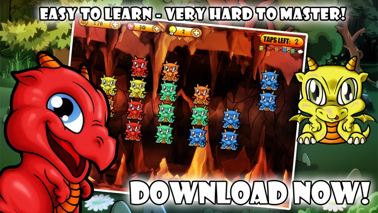 Dragon Poppers HD - Free Creatures Match & Crazy Power Puzzle Game screenshot-4
