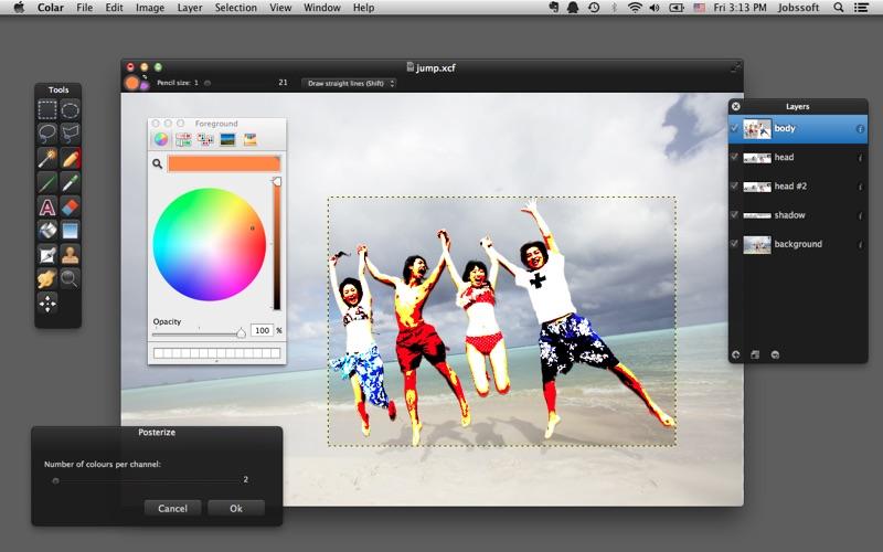 Colar - an Advanced Image Editor скриншот программы 4
