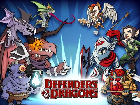 Defenders & Dragons-ipad-0
