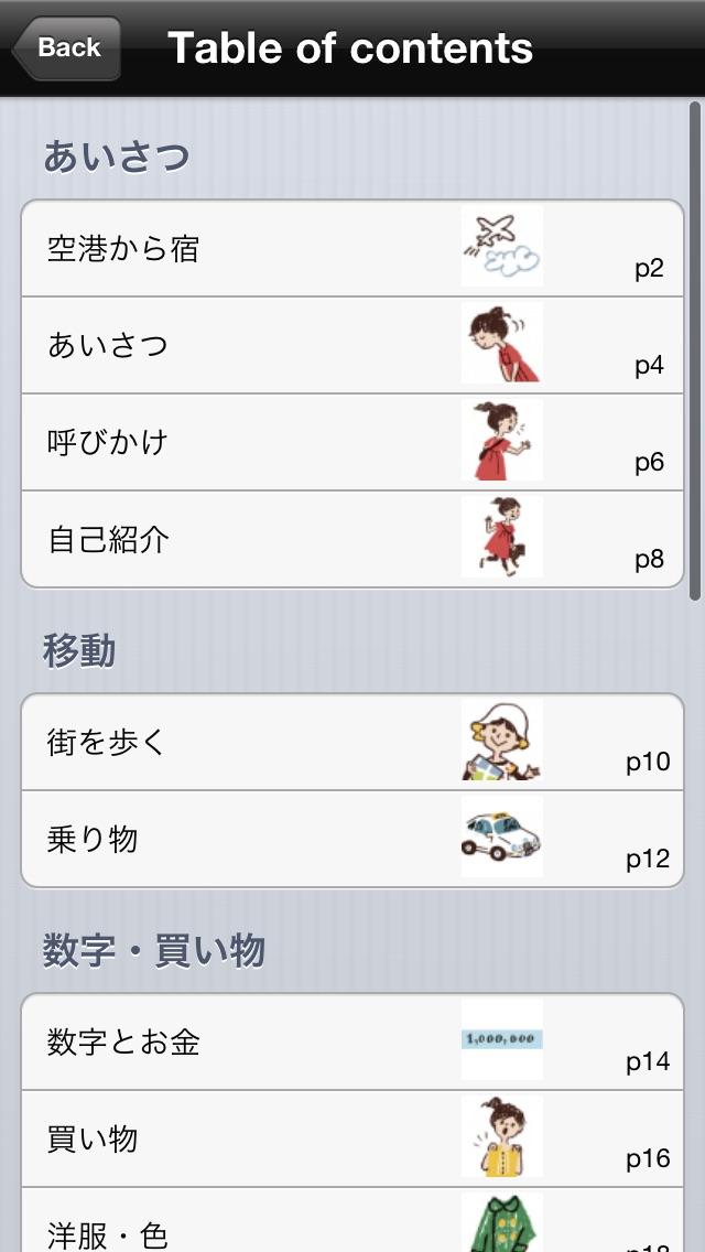 指さし会話ドイツ touch&talk screenshot1