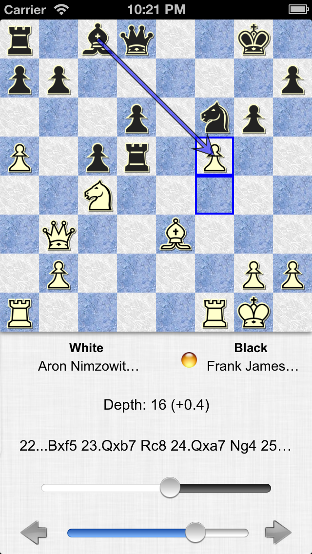 Screenshot #2 pour SmallFish Chess For iOS 6 - Free & Friends