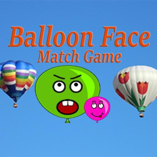 Balloon face math game