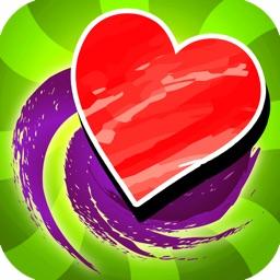 Sweet Swirl Art Valentine FREE- An Awesome Love Make Master Piece