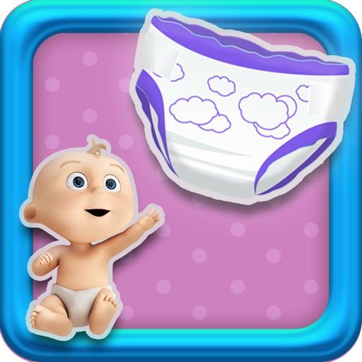 Baby Diaper POP Nursery game - Pro version