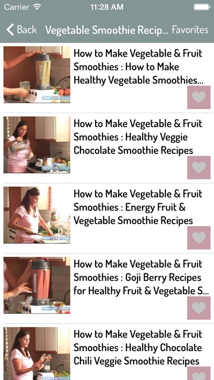Smoothie Recipes - Best Smoothie Recipes screenshot-1