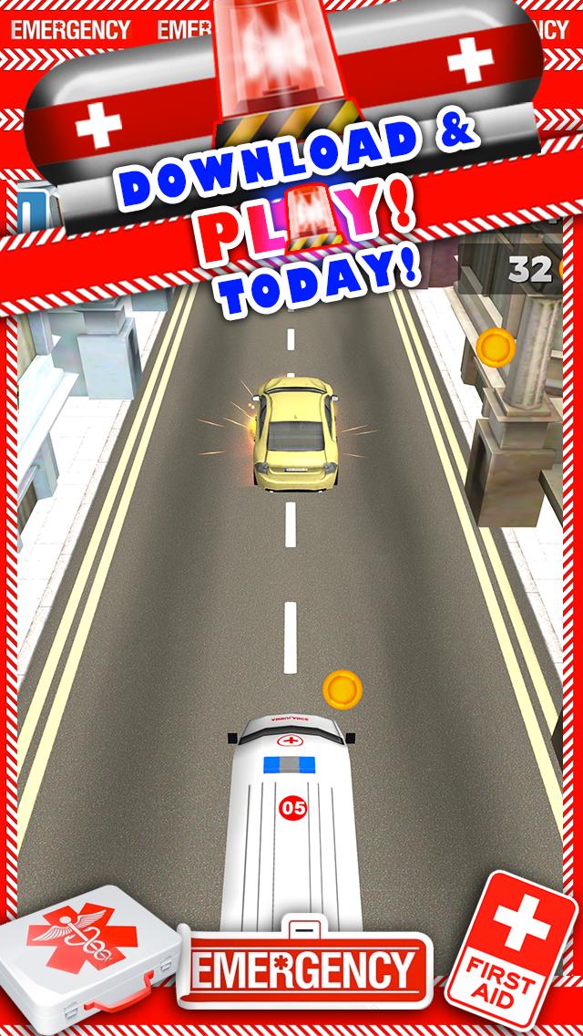 新ボーイズ無料でトップ楽しいドライビングレーシングゲームで、3D救急車レースカーのゲームのおすすめ画像5