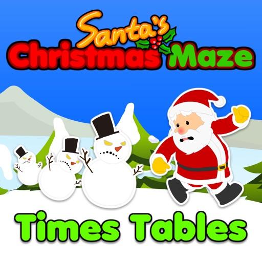 Santa's Christmas Maze: Times Tables HD