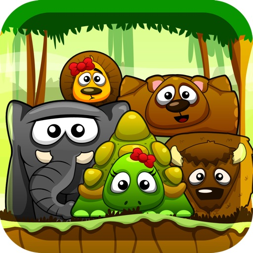 Animal Collision Lite - A Jungle Adventure icon