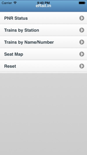 eRail in Indian Rail / Train on the App Store