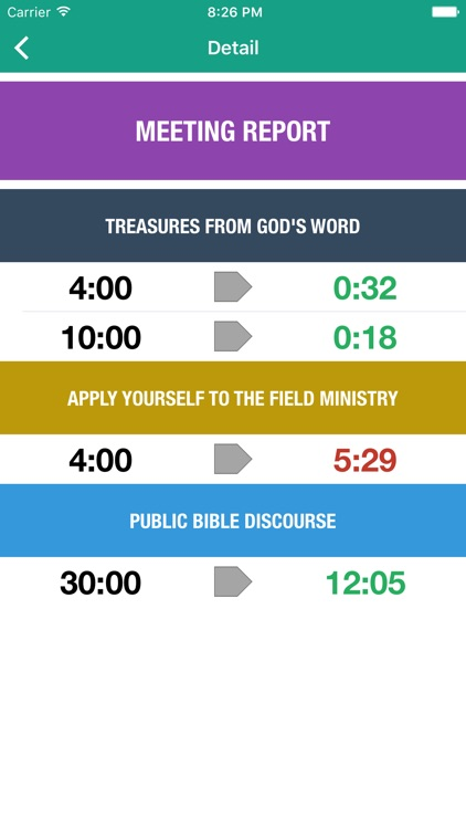 Theocratic Timer screenshot-1