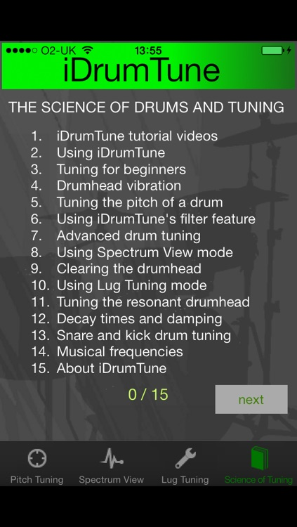 iDrumTune screenshot-3
