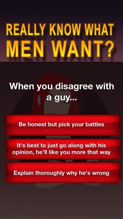 Do You Really Know What Men Want? screenshot-2