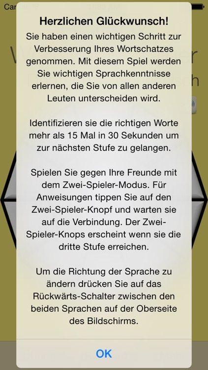 Vocabulary Trainer: German - English screenshot-4