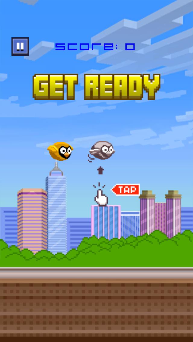 Brave Splashy Bird - a jumpy fish fly floppy game screenshot two