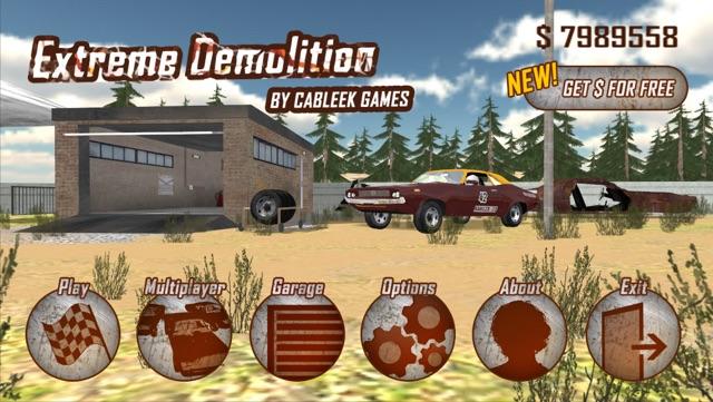Extreme Demolition Screenshot