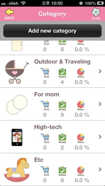 Checklist for baby birth - Prepare your labor screenshot-4