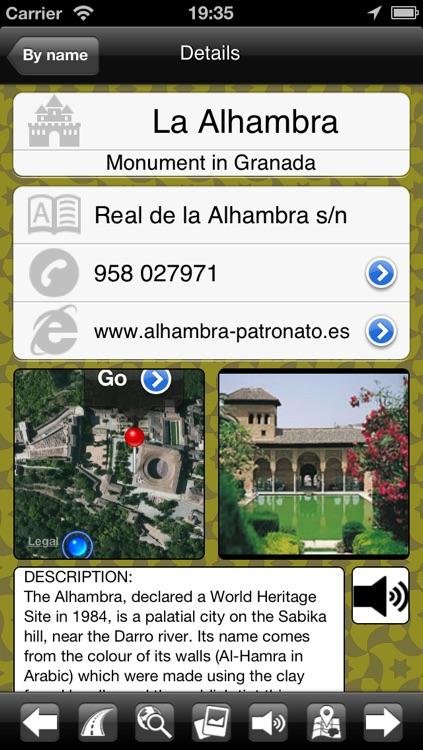 Granada Audioguide - Tourapp Plus