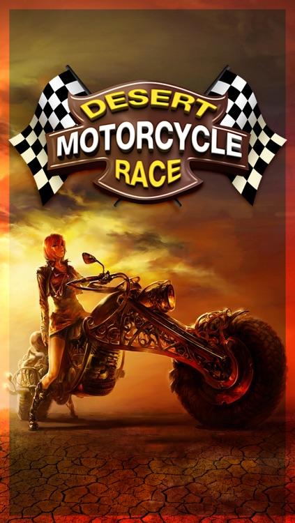 Motorcycle Desert Race Track: Best Super Fun 3D Simulator Bike Racing Game