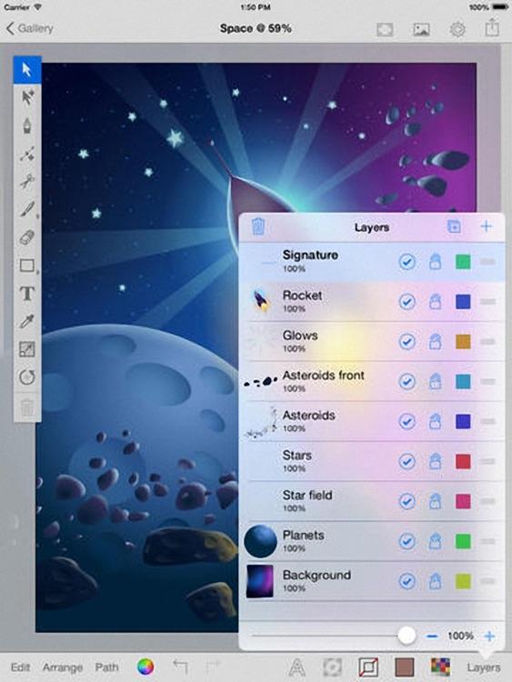 iDraw Plus - Vector illustration & Graphics & Art Design