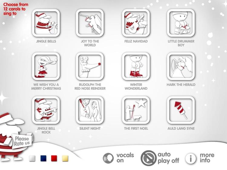 Christmas Karaoke App : 12 Carols