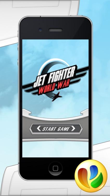 Jet Fighter World War Game screenshot-4