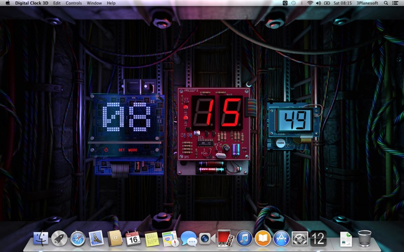 Digital Clock 3D Screenshots