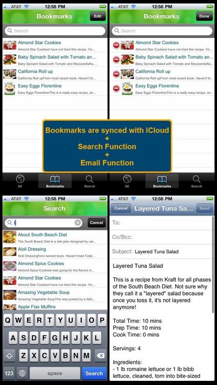350 South Beach Diet Recipes