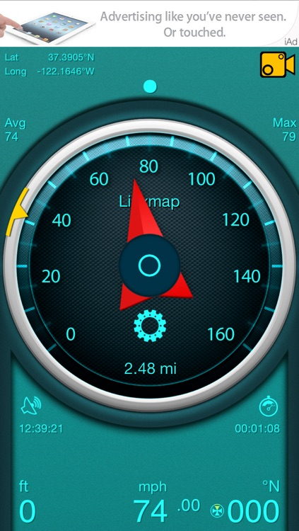 Gps Speedometer screenshot-4