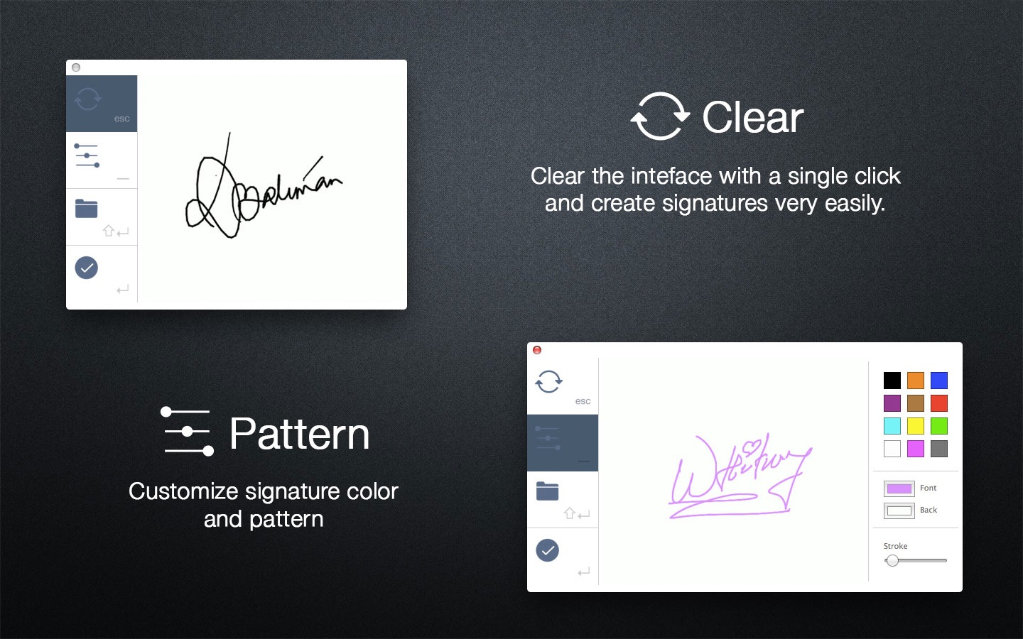 ‎Signature on the Mac App Store