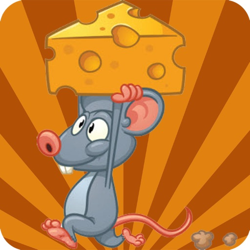 Tom the lazy mouse maze escape - Race through time and rescue mouse from mouser and trapz without panic. A top free mouse & cheese puzzle game for kids and adults.