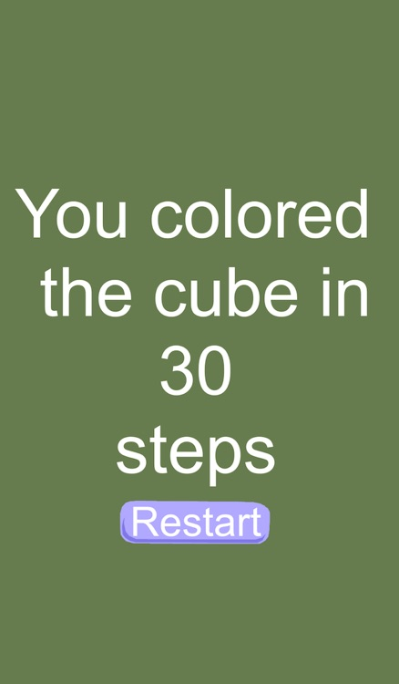 Color The Cube