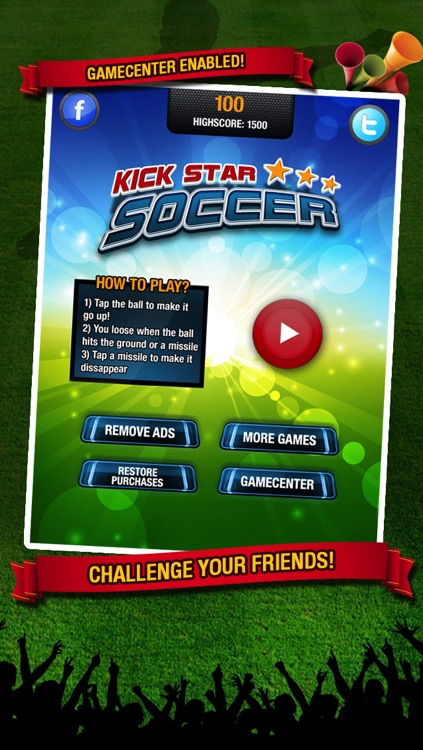 Kick Star Soccer - Keepy uppy challenge for finger football fans screenshot-4